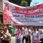 MTsN Subang Anak Raih Juara 1 Lomba Pawai Alegoris di Batipuh